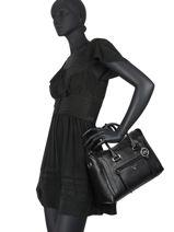 Top Handle Carine Leather Michael kors Black carine S0SCCS2L-vue-porte
