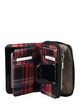 Wallet Lancaster Red basic vernis 14-vue-porte