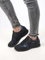 Monia sneakers in leather-MEPHISTO-vue-porte