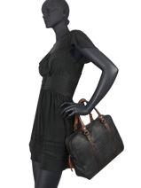 Briefcase Authentic Torrow Black authentic tresse TATT81-vue-porte