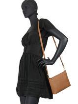 Leather Palma Crossbody Bag Nathan baume Beige nathan 27-vue-porte