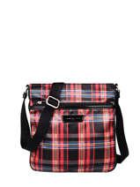 Shoulder Bag Basic Vernis Lancaster Red basic vernis 59