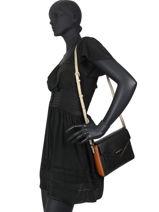 Shoulder Bag Signature Leather Lancaster signature 26-vue-porte