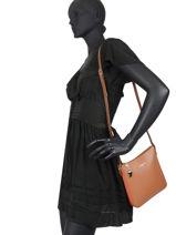 Shoulder Bag Constance Leather Lancaster constance 9-vue-porte