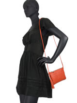 Leather Jesse Crossbody Bag Nathan baume Orange nathan 17-vue-porte