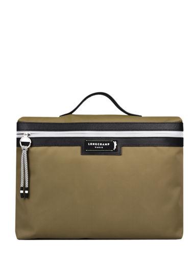 Longchamp Green district Briefcase