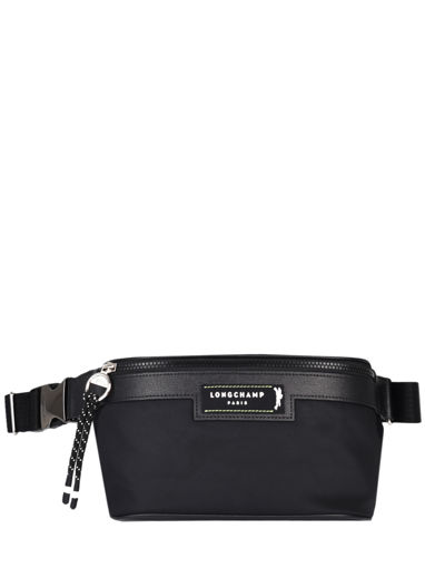 Longchamp Green district Pouch bag Black