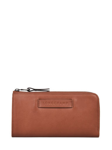 Longchamp Longchamp 3d Wallet Brown