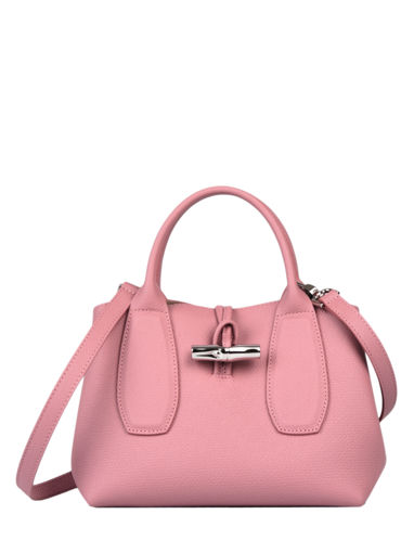 Longchamp Roseau Sacs porté main Rose