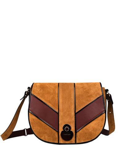Longchamp Cavalcade graphique Messenger bag Brown