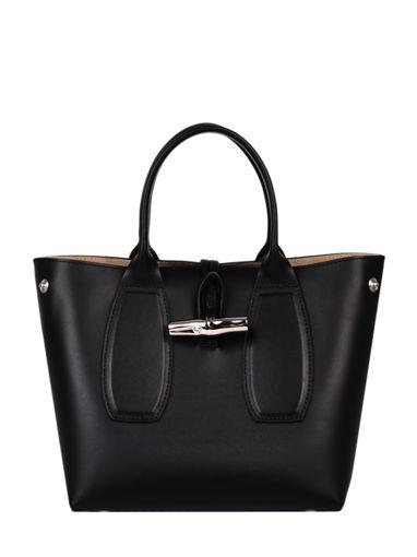 Longchamp Roseau box Handbag Pink