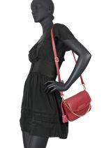 Shoulder Bag Bryan Mac douglas Red bryan S-vue-porte