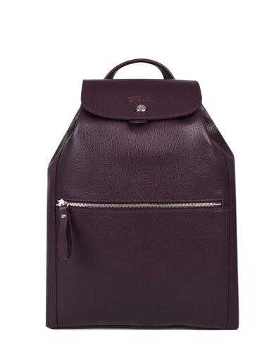 Longchamp Backpack Violet