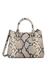 Leather Marcy Mini Top-handle Bag Lauren ralph lauren Beige dryden 31802455
