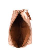 Case Leather Paul marius Pink vintage ADELE-vue-porte