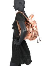 Backpack Le Baroudeur Paul marius Pink vintage BAROUDEU-vue-porte