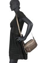 Nelson Crossbody Bag Lulu castagnette Silver cloute NELSON-vue-porte