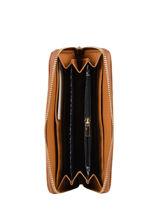 Wallet Lulu castagnette Brown accessoires LAENA1-vue-porte