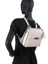 Compact Matrix Backpack Guess Beige matrix VG774032-vue-porte