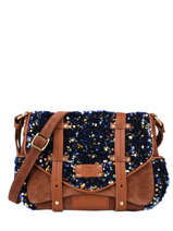 Vintage Rosy Crossbody Bag Mila louise Brown vintage 3408VC