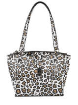 Nerea Shoulder Bag Leopard-print Guess Multicolor nerea LG775422