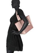 Kamryn Shoulder Bag Guess Pink kamryn SI669123-vue-porte