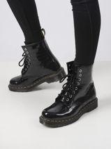 1460 boots leather-DR MARTENS-vue-porte