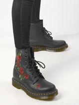 1460 vonda boots in leather-DR MARTENS-vue-porte