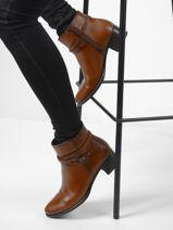 Low heel alegria ankle boots-DORKING-vue-porte