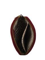 Porte-monnaie Vintage Cuir Mila louise Rouge vintage 33255C-vue-porte