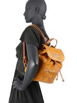 Denali Backpack Les tropeziennes Brown denali DEN13-vue-porte