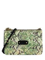 Natasha Python Crossbody Bag Mila louise Black sarg 23665SG