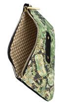 Trousse Sarg Python Mila louise Noir sarg 16962SG-vue-porte