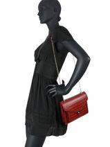 Crossbody Bag Dundy Miniprix Red dundy X9548-vue-porte
