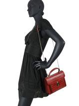 Handbag Dundy Miniprix Red dundy X9528-vue-porte