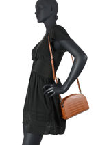 Crossbody Bag Dundy Miniprix Brown dundy X8006-vue-porte