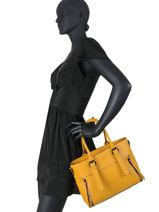 Shoulder Bag Pepper Miniprix Yellow R7434-vue-porte