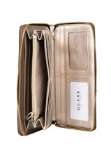 Cathleen Wallet Guess Brown cathleen SG773763-vue-porte