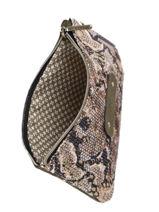Trousse Sarg Python Mila louise Vert sarg 16962SG-vue-porte