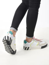 Leather sneakers-SEMERDJIAN-vue-porte