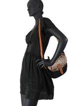 Shoulder Bag Sauvage Miniprix Black sauvage H6775-vue-porte