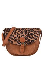 Shoulder Bag Sauvage Miniprix Brown sauvage H6775