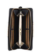 Wallet Dahlia Woomen Black dahlia WDAH91-vue-porte