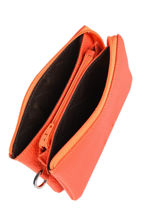 Trousse Cuir Nathan baume Orange original n 283N-vue-porte