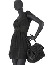 Shopping Bag Wave Liu jo Black wave NF0121-vue-porte