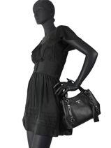 Top Handle Friends Leather Michael kors Black friends F0S1AE2L-vue-porte