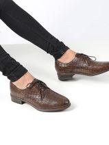 Lace-up shoes-TAMARIS-vue-porte