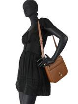 Shoulder Bag Samira Leather Michael kors Brown samira F0G1MM7L-vue-porte