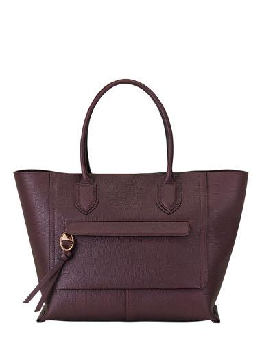Longchamp Mailbox Sacs porté main Jaune