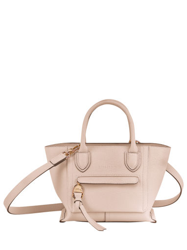 Longchamp Mailbox Handbag Beige